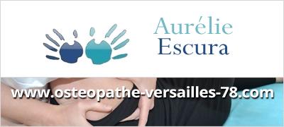 Aurélie Escura, ostéopathe à Versailles